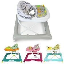 iSafe Entertaining Baby Walker Boys And Girls Height Adjustable Walk Along
