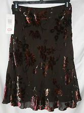 Womens Allison Taylor Floral Skirt - Size 6 - Very Nice! NWT!