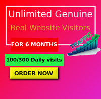 Unlimited Website Traffic For 6 Months