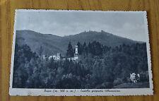 CARTOLINA CUNEO BUSCA CASTELLO RARA VIAGGIATA 1915 SUBALPINA ZZ