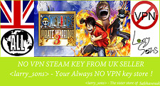 One Piece Pirate Warriors 3 Vapor clave no VPN región libre de Reino Unido Vendedor