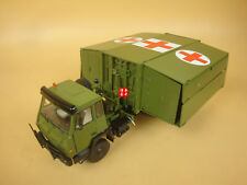 1/43 China PLA STYER SX2190 ARMY Medical Expand room TRUCK model