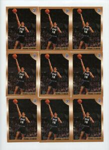Lot of (13) Predrag Stojakovic 1998-99 Topps #201 Rookie Cards AG637
