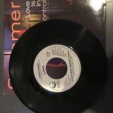 45 Donna Summer - Love Is In Control   GEFFEN VG