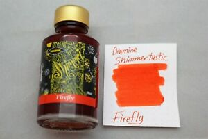 Diamine 50 ml Shimmertastic Fountain Pen Bottled Ink Firefly
