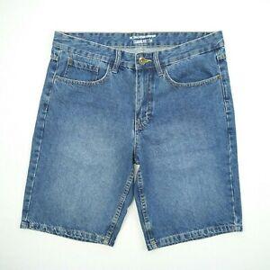 The 1964 Denim Co 100% Cotton Blue Classic Fit Denim Shorts Men's Size 34