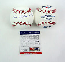 BRENT SCOWCROFT US AIR FORCE GENERAL SIGNED AUTOGRAPH MLB BASEBALL PSA/DNA COA