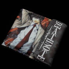 Anime Death Note Cosplay wallet leather Two-Fold purse Free Shipping#sgn