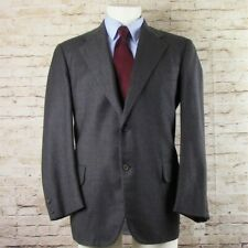 Southwick The Andover Shop Sport Coat Blazer Mens 42R Gray 100% Wool