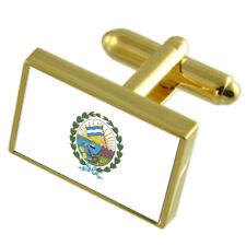 Bandera de oro Rosario ciudad Argentina Caja Grabado Gemelos