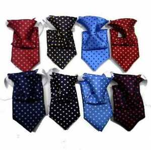 Cravatta da bambino con elastico seta a pois da 0 18 mesi fino 3 anni made italy