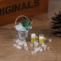 1:12 Dollhouse miniature iced beer set for doll house decorat JRBDAU