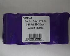 Bombax 6,0V/2500mAh SubC NiCd F5x1 5er Reihe BEC Empfänger