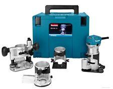Fresatrice Makita Rt0700cx3 Rifilatore elettrico con Accessori