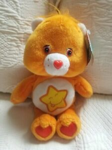 Care Bear Laugh-a-Lot Bear 2003 NWT  8""