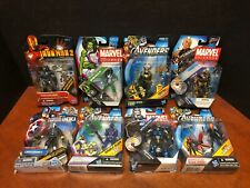 "Marvel 3.75"" Universe Avengers Cable Loki Widow War Machine Lot Of 8 Dela2246"