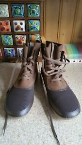 mens Clarks 2 tone brown Nature Boots Uk 7G  new with out box