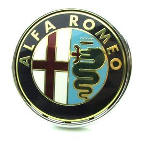 Alfa Romeo Mito 2013-2016 New Genuine Rear Emblem Boot Badge 50531454 push type
