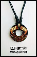 Collar Ajustable Unisex Guns and Roses Hard Rock Metal Guns n' Roses Colgante