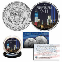 WORLD TRADE CENTER 17th Anniversary 2018 Kennedy Half Dollar U.S. Coin 9/11 WTC