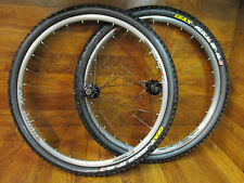 "BONTRAGER RHYTHM COMP 29"" DISC 10 SPEED MTB WHEEL SET MEZCAL 2.1 TUBELESS TIRES"