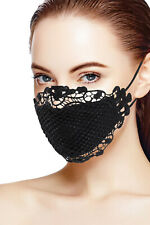 Unique Sexy Lace Face Mask for Protection Reusable - Breathable, Washable