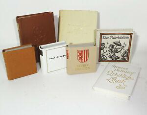 Konvolut DDR Minibücher Miniatur Bücher Albert Schweitzer NVA Dresden ! (B2