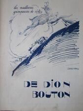 12/1926 PUB AUTOMOBILE MOTEUR DE DION BOUTON GEORGES VILLA CHAMOIS COTE AD