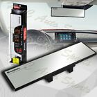 Universal Broadway 270mm Wide Flat Interior Clip On Rear View Clear Glass Mirror