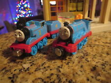 THOMAS AND FRIENDS PAIR OF TRAIN ENGINES AND COAL CAR CLEAN