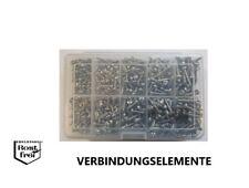 Blechschrauben Sortiment/Set 500 Teile DIN 7981 mit TORX EDELSTAHL A2 Ø 3,5-3,9