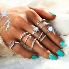 Trendy Vintage Women Summer Ring Set, 10 Pieces for Stylish girls
