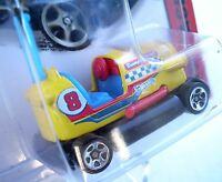 Yellow BUMPER CAR. Hot Wheels 2014 HW Race - Bump Around. New in Blister Pack!