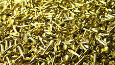 From Oz Quality 50 Piece X 5mm Solid Brass Mini Nails Small Hobby DIY Tiny Nail