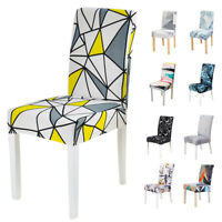 Dining Chair Covers Home Seat Cover Stretch Spandex Slipcovers Universal Elastic