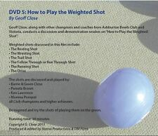 Lawn Bowls Coaching DVD 3 - How to Play the Weighted Shot - 1 DVD - Zone 0