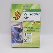 NEW Duck Brand Extra Large / Patio Door Window Kit 84 x 120
