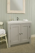 Hand Painted Washstand made from Solid timber with sink included