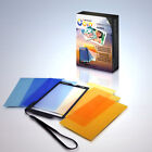 Mennon CTC-7 Color Temperature and White Balance/Grey Cards w/ Pouch,photography