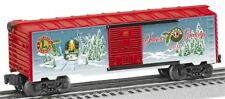 2010 discontinued Lionel 6-39332 O & O-27 Gauge  Holiday Boxcar new in the box