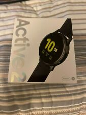 NEW SAMSUNG GALAXY ACTIVE 2 WATCH ( BLACK) 44M ALUMINUM FACTORY SEALED