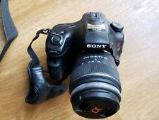 Sony A-57 DSLR + 4 Lens+ Flas+ Many Extra