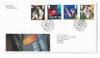 UK Royal Mail First Day Cover Sport 1991 Sheffield