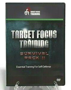 Target Focus Training Survival Pack 2 Essential Training Self-Defense 4-Disc DVD