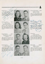 Bill EVANS (Jazz): Signed High School Yearbook