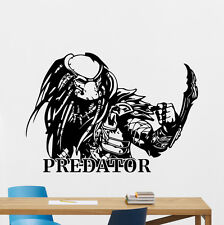 Predator Wall Decal Superhero Nursery Vinyl Sticker Kids Room Decor Mural 132zzz