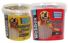Webbox Prime Chomping Chews 1.5Kg Chicken / Beef Dog Treats