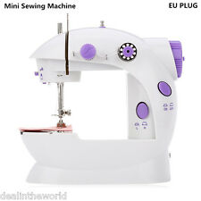 Home Mini Sewing Machine Double Speed Automatic Thread with Light EU PLUG