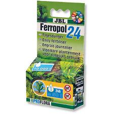 JBL Ferropol 24 Daily Fertiliser Planted Tank Nutrients Aquarium Plants 10ml