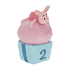 Disney Piglet Two is For Growing Faster and Faster Ceramic Figurine 300360